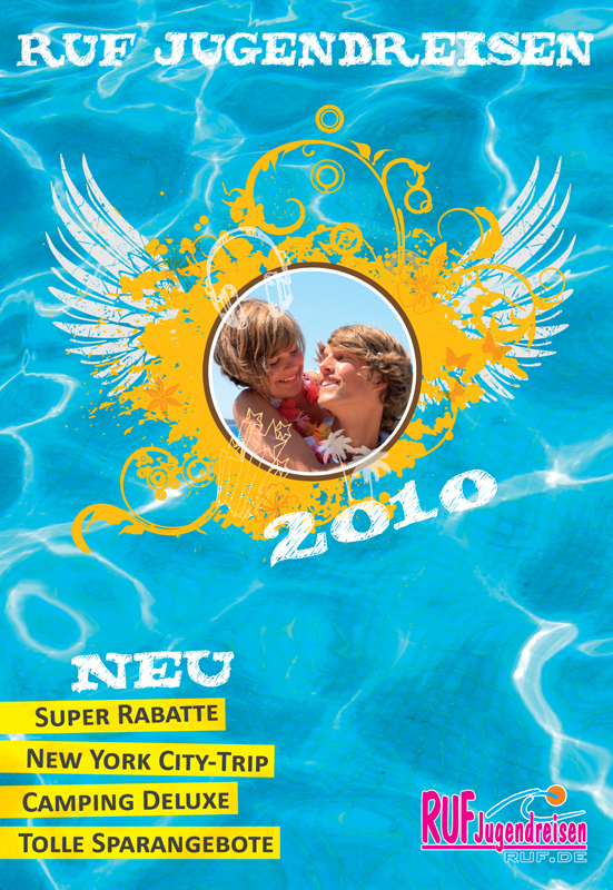 RUF Jugendreisen Sommerkatalog 2010