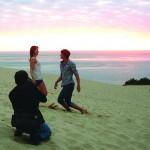RUF Titelmodelshooting für die Saison 2012 an der Dune de Pyla